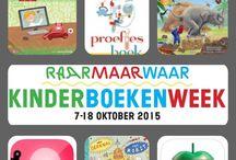 Kinderboekenweek 2015 / Raar, maar waar! Over wetenschap, techniek en natuur. 7 tot en met 18 oktober 2015.
