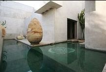 Architecture: marble wall