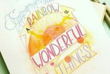 Handlettering / Handlettering by Patchoeli