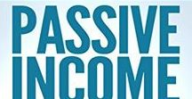 Passive Residual Income / If you're into making passive residual income streams, you might want to check this board out! Enjoy! #passiveincome #residualincome #makemoneyonline