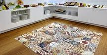 Patchwork Cement tiles - Creative Ideas