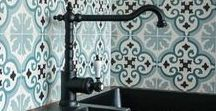 Creative Kitchen Tile Backsplashes