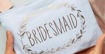 Gifts for Bridesmaids / Creative gift ideas for the Bridesmaids. Say thanks for standing by your site with a perfect bridesmaid gift.