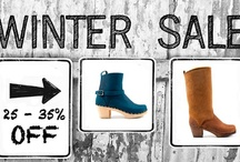 Clog Boots for Winter / Sandgrens Clog Boots for Women are perfect for the Fall and Winter season / by Sandgrens Clogs