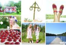 Swedish Midsummer Clogs / Sandgrens Swedish Clogs for the Midsummer Holiday / by Sandgrens Clogs