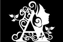 Silhouette Cameo Ideas / by Annette van R