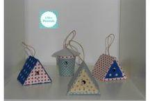 Casinhas de pássaros / Produtos handmade, para decorar a sua casa...