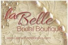 La Belle Boutique / Wedding Gown collections pinned by La Belle, a fictional bridal boutique in Bliss, Illinois, the most married-est town on Earth. | The Misfit Brides of Bliss, a small-town contemporary romance series