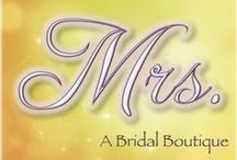 Mrs., A Bridal Boutique in Bliss / Bridesmaid Dresses pinned by Mrs., a bridal boutique in Bliss, Illinois, the fictional most married-est town on Earth and the setting of the Misfit Brides of Bliss series of fun small-town romances