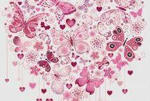 PUNTO DE CRUZ (Corazones) / Espectaculares esquemas de corazones para elaborar a punto de cruz. Busca tu corazón favorito, escógelo e imprímelo en el tamaño que prefieras y.... ¡empieza a bordar, corazón!