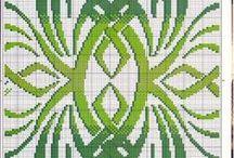 Punto de Cruz (Cenefas y Mosaicos)