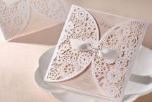 Svatební oznámení / Oznámení je možné vidět také reálně v našem katalogu vzorků.