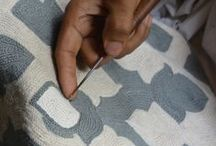 Niki Jones Cushion Stories / Stories about how our cushion collection is made.