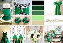 Barevné kombinace na svatbu
