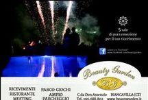 Beauty Garden Banqueting / Ricevimenti Catania, è una villa di prestigio per matrimoni, battesimi, cresime e feste di compleanno. Locale immerso nel verde a Biancavilla. Catania. Sicilia.