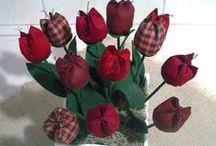 fiori di stoffa / by donatella vassallo