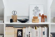 bookshelf's and cabinets