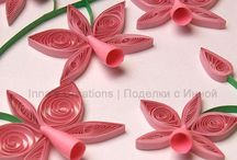 Quilling flowers / by Jennie D