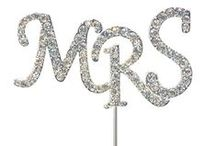 Wedding Cake Toppers / Diamante Bling for cakes