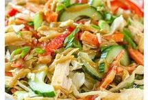 Salads / Come on and eat light with a side of healthy.