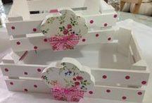 Reciclar cajas de frutas / by Mamá&nené