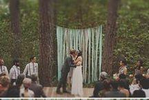 Svatební obřad / Inspirujte se fotografiemi z netradičních svatebních obřadů.