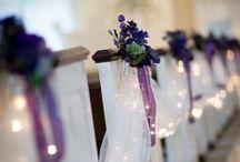 Svatebni vyzdoba kostela