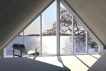 Archipelago Dreams / A home nearby the sea. A home retreat. Architecture. Interior Design.