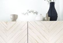 Plywood in Kitchen / Plywood detailing big and small for kitchen.