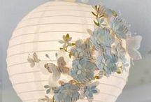 Svatební lucerny a lampiony