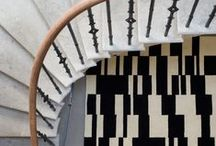 Niki Jones Handknotted Rugs / Designs and colour ways showing our hand knotted rug collection made in Nepal.