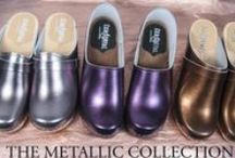 The metallic collection (LIMITED) / Metallic clogs at sandgrensclogs.com / by Sandgrens Clogs