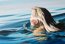 Water / My favourite element. Soothes and silences my restless mind.