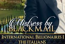 Mistress by Blackmail / 1st book in the Italian Billionaires