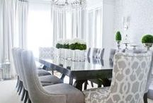 Dining Room Extravagance / Amazing Dining Room Interior Design Ideas.