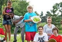 School Gardens / School gardens provide teachers with excellent hands-on learning for their students. Lessons about gardens can meet K-12 academic standards in science, social studies, math, language arts and health and nutrition.