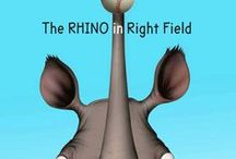 The Rhino in Right Field / Here is some of the real-life inspiration for the story and characters behind my novel for kids, THE RHINO IN RIGHT FIELD, about growing up in a city that very closely resembles Milwaukee in the late 1940s.