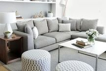 Living Rooms Designed to Impress / Interior design inspiration for your living room.