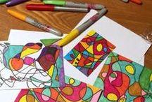 Kids art / Kids art + craft ideas