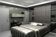 Quartos - Desejo Decoração / Parte de nossa coletânea de ambientes planejados. Acesse nosso site: http://www.desejodecoracao.com.br/