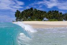 pláže a more