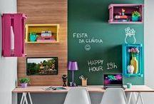 Decoração Geral / Aqui reunimos boas ideias para decorar a sua casa. Compre um ambiente conosco e se inspire para decorá-lo!