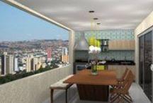 Varandas - Desejo Decoração / Varandas planejadas para melhor usufruir o espaço no seu apartamento. Confira também em nosso site: http://ow.ly/OkIje