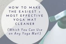 Yoga DIY / Everything you need for your yoga lifestyle you can make yourself.
