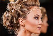 Hair Swag / Hair accessories, hair bling and designs