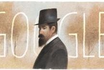 Google Cover Art | Illustration / Selection of my favorite Google doodles.
