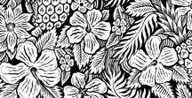 Floral | Ornaments | Plant / I love floral, they are perfect shapes for pattern and to go with Lettering pieces. So I decided to gather as much inspiration as I could, from different style ranging from vector work to pure illustration. Enjoy those flowers.