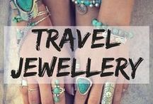 Travel Jewellery / Cute travel jewellery to sparkle on your journey. rings | bracelets | necklace | earrings | travel accessories