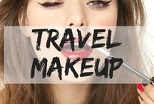 Travel Makeup / Makeup inspiration for days and nights out wherever you are. travel makeup | makeup | day out makeup | night out makeup | smoky eyes | red lips | casual makeup