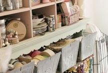 If I had room to organize my crafts...